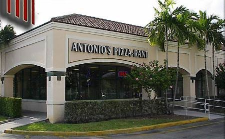 Antonio's Pizza Rant Plantation Florida Location